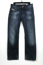 Diesel Jeans Mens 29 X 30 Larkee Dark Wash 008ST Button Fly Straight Leg A2212