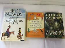 3x Travelling Fiction Books Eric Newby Traveller's Tales Congo Journey