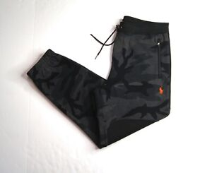 POLO RALPH LAUREN Men's POLO RL67 Camouflage Double Knit Jogger Pants NEW NWT