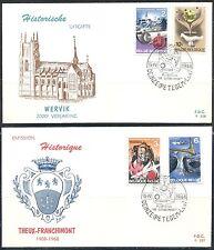 BELGIE FDC 1448-1451 Deinze Petegem