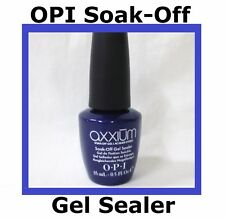 OPI Axxium Gel Nail Colors Soak-Off Sealer 1 BLUE BOTTLE