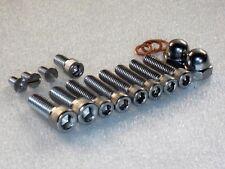 Triumph T120 T140 Bonneville primary chaincase stainless UNC Allen Bolts 14pc