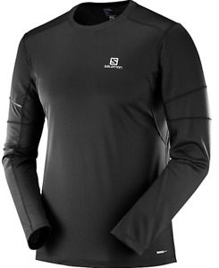 Salomon Men's Agile LS Tee Long Sleeve Shirt Medium