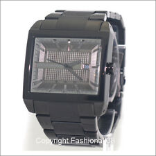 ARMANI EXCHANGE MENS CASUAL BLACK STAINLESS STEEL WATCH AX2202