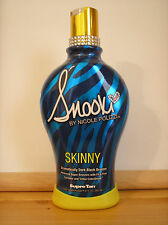 Supre SNOOKI Skinny Ultra Dark BLACK Bronzer Indoor Tanning Lotion $84 Retail