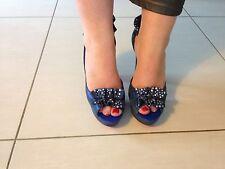 Escarpins/chaussures Femme Cathy Guetta by André 40 Bleu Irisé