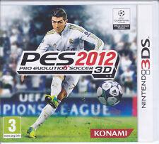 Nintendo 2DS~3DS **PES 2012 ~ PRO EVOLUTION SOCCER 3D** nuovo sigillato italiano