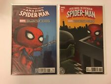 Marvel Collector Corps Spider-Man Amazing 16 Peter Parker Spectacular 1 Variant
