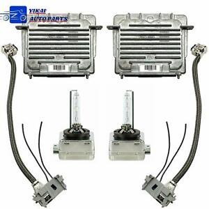 2x OEM For 13-16 GMC Acadia Xenon HID Headlight 7G Ballast & D3S Bulb 22840414