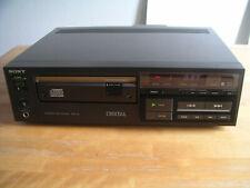 Sony cdp-101 reproductor de CD, high-end versión, control remoto, top estado!!!
