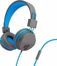 774d21e9865 JLab Audio - JBuddies Studio Wired Over-the-Ear Headphones - Gray/Blue