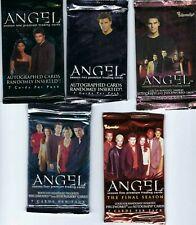 Angel seasons 1-5, trading card packs