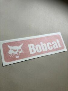 Bobcat Orange Stripes Replacement SET OF 2 Skid Steer Vinyl Decal Sticker