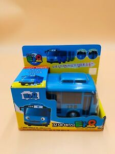 The Little Bus TAYO Main Plastic Diecast Toy Car Original TAYO Model Blue NEW US