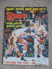 MAY 1968 RING Magazine Aussies Irate over Winstone's Title Claim COVER