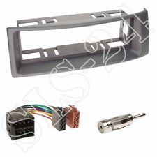 Renault Megane Scenic Radioblende DIN Blende grau + ISO KFZ Adapter+Antenne Set