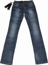 Faded Only L34 Damen-Jeans mit geradem Bein