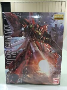 BANDAI MG 1/100 MSN-06S Sinanju Anime Colour Ver. Master Grade