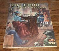 VTG The Etude Music Magazine FEBRUARY 1946 Sheet Music & Articles Plus Ads