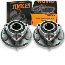 Timken Rear Wheel Bearing & Hub Assembly for 2007-2017 GMC Acadia Pair Left sn