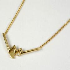 Diamant Halsketten und Anhänger im Collier-Stil aus Gelbgold mit Diamanten