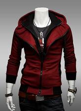 Men Hoodie Jacket Hooded Coat Long Sleeve Pullover Jumper Top Sweater Sweatshirt