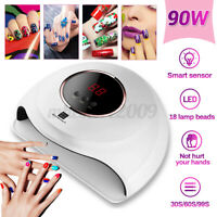 Professional Nail Dryer LED Lamp UV Light for Gel Polish Manicure Machine Timer