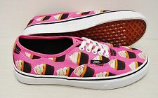 Vans Authentic Late Night Hot Pink Cupcakes VN0003B9IFD Women's Size 8.5