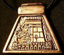 AZTEC ASTROLOGY Calli - House (gold color)