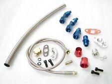 Turbo Oil Feed+Return Line Kit For T3/T4 T66 universal tubro