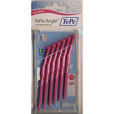 1 TePe Angle Interdentalbürsten PINK 0,4mm Größe 0 mit Griff (Pack. mit 6 Stück)