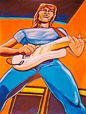 JEFF BECK PRINT poster beckology cd blow by blow fender stratocaster yardbirds