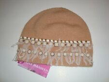 Alice Hannah Lambswool Embellished Beanie Hat (2260)