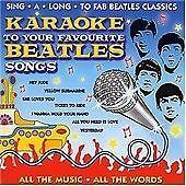 Karaoke -to Your Favourite Beatles Songs [2CD]-Full Vocal+Karaoke CD's-Brand New