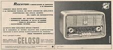 W1860 Ricevitori radio Geloso - Pubblicità del 1958 - Vintage advertising