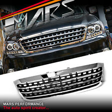 Chrome Black AMG Style Front Grill for TOYOTA HILUX VIGO 08-11 GRILLE