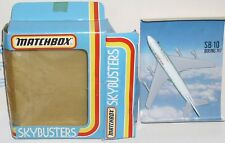 MATCHBOX SKYBUSTERS SB-10 BOEING 747 CATHAY PACIFIC AEREO METALLO DIECAST IN BOX