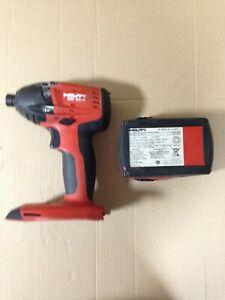 HILTI impact driver sid 22-A + Battery