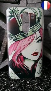 Coque Plastique Rigide Etui LG G3 - Femme Tatoué Tatouage