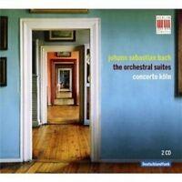 CONCERTO KÖLN - J.S.BACH-ORCHESTERSUITEN BWV 1066-1069  (2 CD)  24 TRACKS  NEU