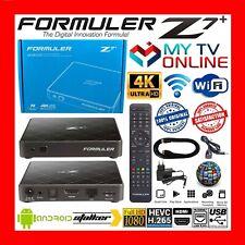 ✅FORMULER Z7+ 4K HDR WIFI ANDROID 2GO 8GO QUAD CORE MYTVONLINE STALKER STREAM FR