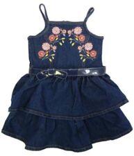 Abbigliamento blu per bambine dai 2 ai 16 anni, taglia 2 anni, 100% Cotone