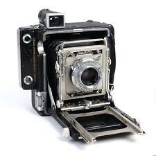 ^ Graflex Crown Graphic 2x3 Large Format Camera w/ Kodak Ektar 101mm f4.5