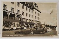 Norge Hotel Norge carl Normanns - Hamar 1930's RPPC Real Photo Postcard D19
