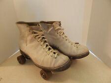 Vintage CHICAGO ROLLER SKATE COMPANY ~ WARE BROS.  7 ~  Roller Skates