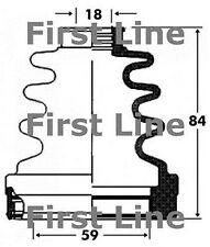 FCB2820 FIRST LINE CV JOINT BOOT KIT fits Citroen,Ford,Honda,Mazda-Inner