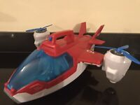 Paw Patrol Toys Air Patroller Helicopter Plane Electronic Lights And Sounds Toy
