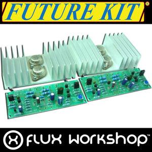 Future Kit Audio Stéréo Amplificateur DIY FK661 50W 10Hz 100kHz Souder