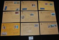 Italy collection lot 18 commercial covers - commemoratives 1990s  [FD1301]