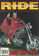Ride 1991 Issue #8 - Honda VLX600 Shadow Harley Davidson FXDB Dyna Gide Sturgis